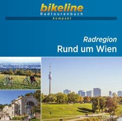 bikeline Radtourenbuch kompakt Radregion Rund um Wien