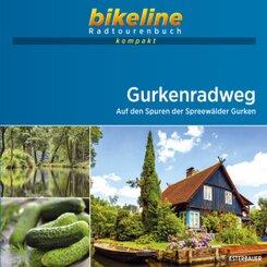 bikeline Radtourenbuch kompakt Gurkenradweg