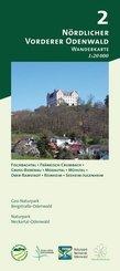 Odenwald Freizeitkarte Vorderer Nördlicher Odenwald