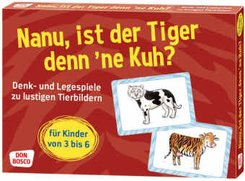Nanu, ist der Tiger denn ´ne Kuh?