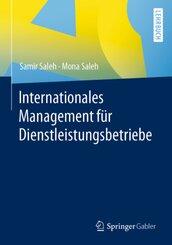 Internationales Management für Dienstleistungsbetriebe