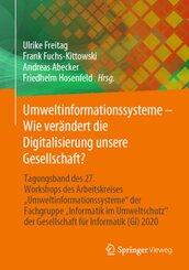 Umweltinformationssysteme - Wie verändert die Digitalisierung unsere Gesellschaft?