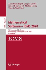 Mathematical Software - ICMS 2020