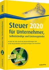 Steuer 2020 für Unternehmer, Selbstständige und Existenzgründer - inkl.DVD