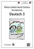 Keine Lücken durch Corona - Deutsch 3 (Grundschule)