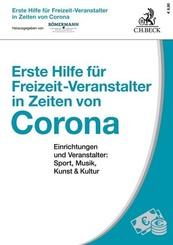 Erste Hilfe für Freizeit-Veranstalter in Zeiten von Corona