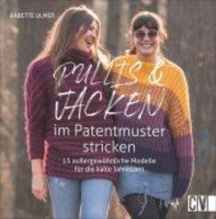 Pullis und Jacken im Patentmuster stricken
