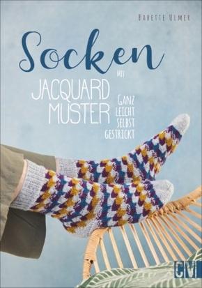 Socken mit Jacquard-Muster