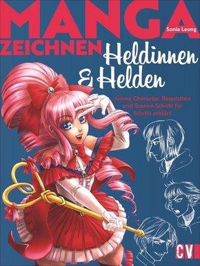 Manga Heldinnen und Helden