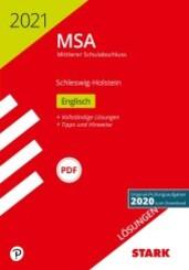 Mittlerer Schulabschluss MSA 2021 - Englisch - Schleswig-Holstein Lösungen zu Original-Prüfungen