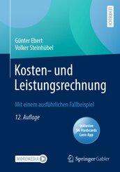 Kosten- und Leistungsrechnung, m. 1 Buch, m. 1 E-Book