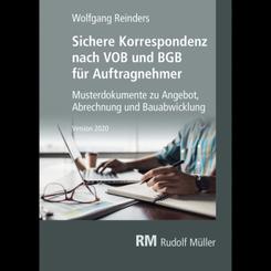 Sichere Korrespondenz nach VOB und BGB für Auftragnehmer, CD-ROM