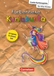 Coole Kartenspiele für Kita-Kinder / Farbenhexe Kuntabunta