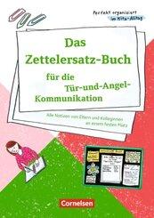 Das Zettelersatz-Buch für die Tür-und-Angel-Kommunikation