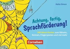 Achtung, fertig, Sprachförderung!; Buch XVII