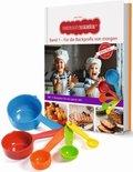 Kinderleichte Becherküche - Für die Backprofis von morgen, m. Messbecher-Set 5-tlg.