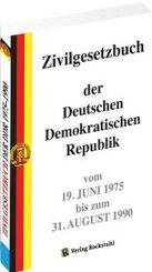 Zivilgesetzbuch der DDR 1975-1990