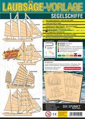 Laubsägevorlage Segelschiffe