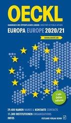 OECKL Handbuch des Öffentlichen Lebens - Europa und internationale Zusammenschlüsse 2020/21