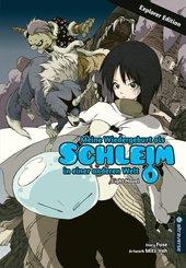 Meine Wiedergeburt als Schleim in einer anderen Welt Light Novel Explorer Edition
