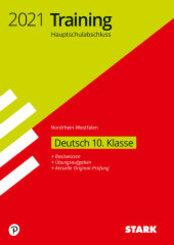 Training Hauptschulabschluss 2021 - Deutsch - Nordrhein-Westfalen
