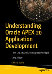 Understanding Oracle APEX 20 Application Development