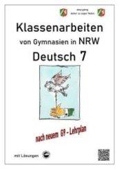 Deutsch 7, Klassenarbeiten von Gymnasien G9 in NRW mit Lösungen
