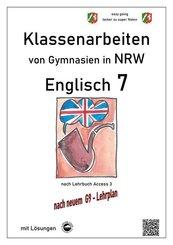 Englisch 7 (English G Access 3), Klassenarbeiten von Gymnasien in NRW mit Lösungen nach G9