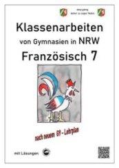 Französisch 7 (nach Découvertes) - Klassenarbeiten von Gymnasien G9 in NRW - mit Lösungen