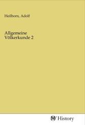 Allgemeine Völkerkunde 2