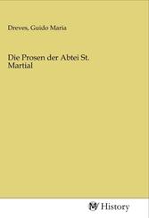 Die Prosen der Abtei St. Martial