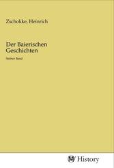 Der Baierischen Geschichten