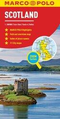 Scotland Marco Polo Map