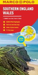 Southern England and Wales Marco Polo Map
