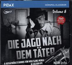 Die Jagd nach dem Täter, 1 Audio-CD, MP3 - Tl.8