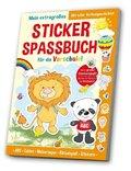 Mein extragroßes Stickerspaßbuch für die Vorschule!