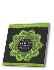 Der kreative Malblock für Erwachsene - Mandalas, m. Audio-CD