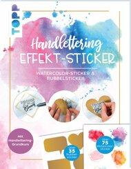Handlettering Effekt-Stickerbuch