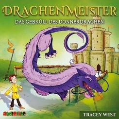 Drachenmeister - Das Gebrüll des Donnerdrachen, 1 Audio-CD