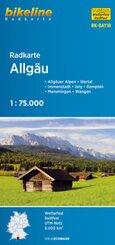 Radkarte Allgäu