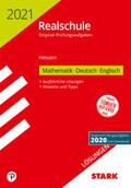 Realschule 2021 - Mathematik, Deutsch, Englisch Lösungen - Hessen