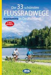 Die 33 schönsten Flussradwege in Deutschland mit GPS-Tracks Download