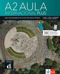 Aula internacional Plus A2 - Deutsche Ausgabe. Kurs- und Übungsbuch + Audios und Videos online - Bd.2