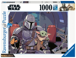 Star Wars: Mandalorian (Puzzle)