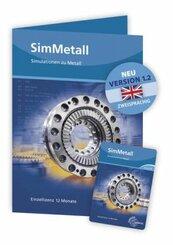SimMetall - 1.1 - Simulationen zu Metall Einzellizenz - Keycard mit Freischaltcode
