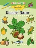 Ausmalbuch - Unsere Natur