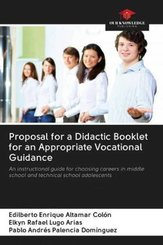 Proposal for a Didactic Booklet for an Appropriate Vocational Guidance