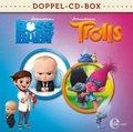 Boss Baby & Trolls-Doppel-Box-Kino-Hörspiele, 2 Audio-CD