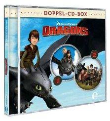 Dragons - Die Reiter von Berk - Dragons-Doppel-Box-Folgen 1+2-Hörspiele