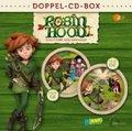 Robin Hood - Schlitzohr von Sherwood - Doppel-Box-Folgen 1+2-Hörspiele